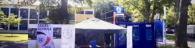 Schnuppertauchen auf dem Landesturnfest 2019 in Schweinfurt