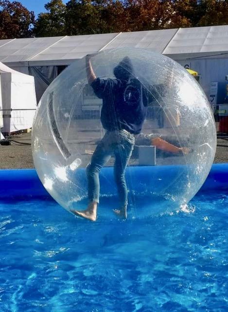 Aqua Zorbing UFRA Wassersportschule Kozlowski