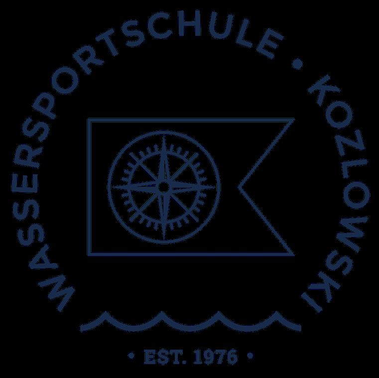 Wassersportschule Kozlowski Logo Fahne