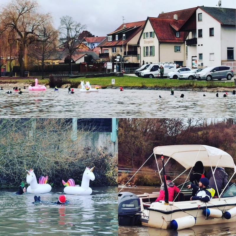Eisschwimmen Wipfeld Wassersportschule Kozlowski 2019