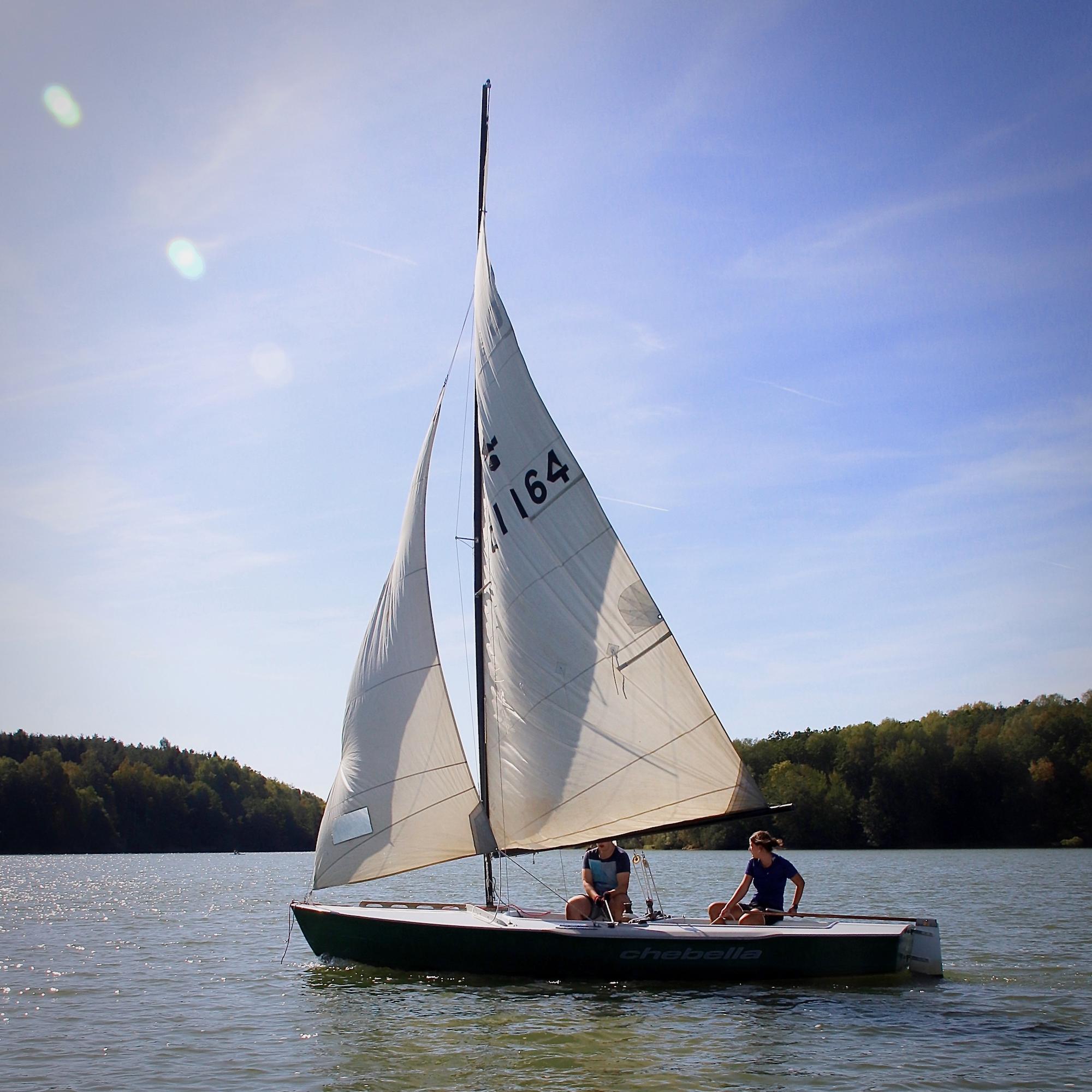 Boot Segelkurs Ellertshaeuser See