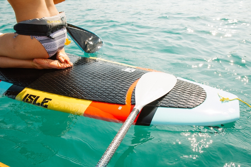 Stand Up Paddle Board mit Paddel
