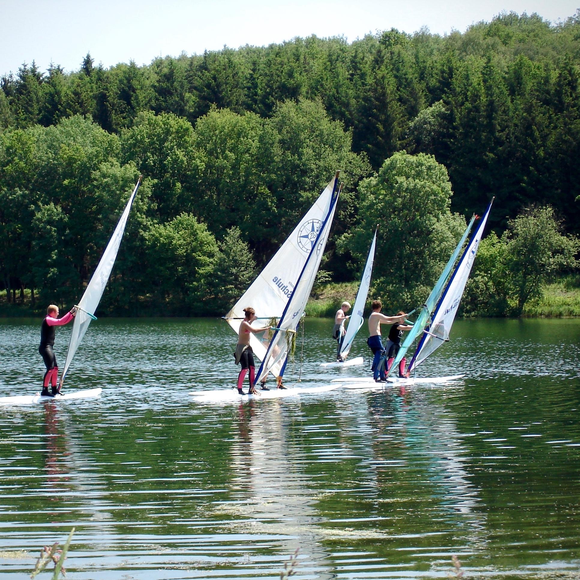 Windsurfing Ellertshaeuser See