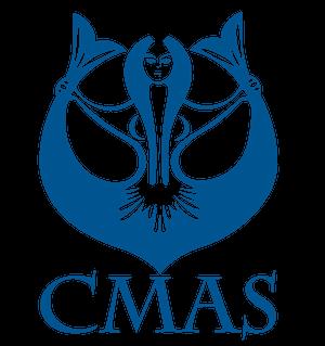 Logo CMAS (Confédération Mondiale des Activités Subaquatiques)